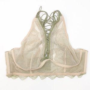 Victoria's Secret Intimates & Sleepwear - NWT Victoria's Secret Very Sexy Lace Up Bralette💚